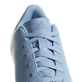 Football shoes adidas Nemeziz Messi 18.4 FxG Jr DB2368 blue multicolored 3