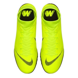 Nike Mercurial SuperflyX 6 Academy Tf M AH7370-701 Football Boots yellow multicolored 1