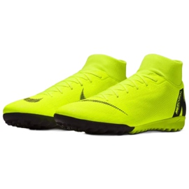 Nike Mercurial SuperflyX 6 Academy Tf M AH7370-701 Football Boots yellow multicolored 3