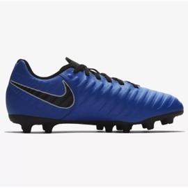 Football shoes Nike Jnr Tiempo Legend 7 Club Mg Jr AO2300-400 blue navy, blue 1