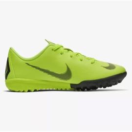 Nike Mercurial VaporX 12 Academy Tf Jr AH7353-701 Football Boots yellow yellow 7