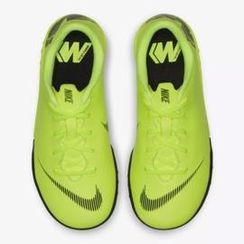 Nike Mercurial VaporX 12 Academy Tf Jr AH7353-701 Football Boots yellow yellow 8