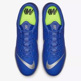 Nike Mercurial Vapor Ic M AH7383-400 indoor shoes blue blue 2