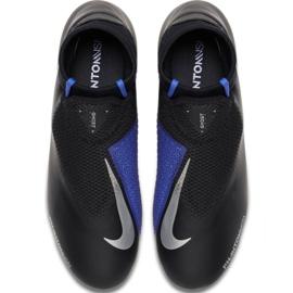Football shoes Nike Phantom Vsn Academy Df M FG / MG AO3258-004 black black, blue 1