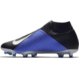 Football shoes Nike Phantom Vsn Academy Df M FG / MG AO3258-004 black black, blue 2