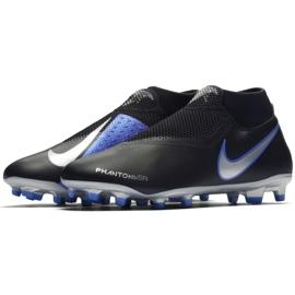 Football shoes Nike Phantom Vsn Academy Df M FG / MG AO3258-004 black black, blue 3