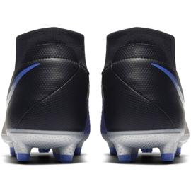 Football shoes Nike Phantom Vsn Academy Df M FG / MG AO3258-004 black black, blue 4