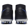 Football shoes Nike Phantom Vsn Academy Df M FG / MG AO3258-004 black, blue black 4