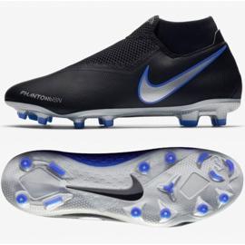 Football shoes Nike Phantom Vsn Academy Df M FG / MG AO3258-004 black black, blue 7