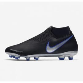 Football shoes Nike Phantom Vsn Academy Df M FG / MG AO3258-004 black black, blue 8