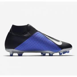 Football shoes Nike Phantom Vsn Academy Df M FG / MG AO3258-004 black black, blue 10