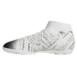 Football boots adidas Nemeziz 18.3 Tf M D97986 white white 1