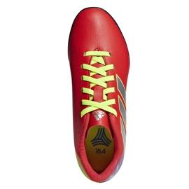 Football boots adidas Nemeziz Messi 18.4 Tf Jr CM8642 red multicolored 1