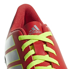 Football boots adidas Nemeziz Messi 18.4 Tf Jr CM8642 red multicolored 2