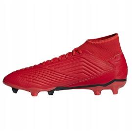 Football boots adidas Predator 19.3 Fg M BB9334 multicolored 1