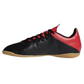 Indoor shoes adidas X 18.4 In M BB9405 black black 1