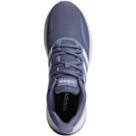 Running shoes adidas Runfalcon W F36217 blue 1