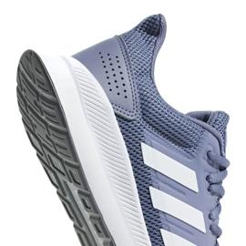 Running shoes adidas Runfalcon W F36217 blue 4
