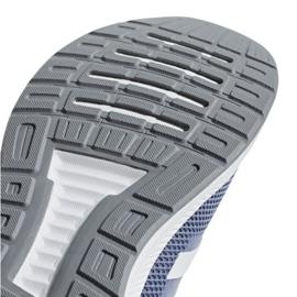 Running shoes adidas Runfalcon W F36217 blue 5
