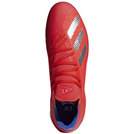 Indoor shoes adidas X 18.3 In M BB9392 red multicolored 1
