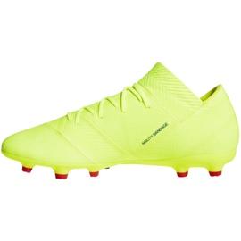 Football shoes adidas Nemeziz 18.2 Fg M BB9431 yellow yellow 1