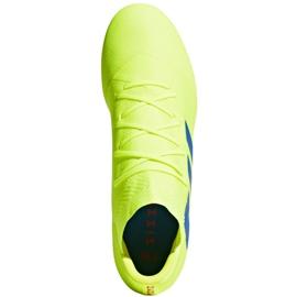 Football shoes adidas Nemeziz 18.2 Fg M BB9431 yellow yellow 2