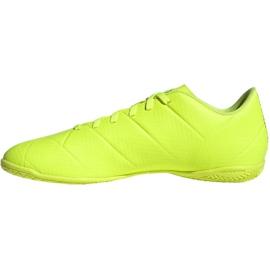 Indoor shoes adidas Nemeziz 18.4 In M BB9469 yellow yellow 2