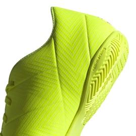 Indoor shoes adidas Nemeziz 18.4 In M BB9469 yellow yellow 4