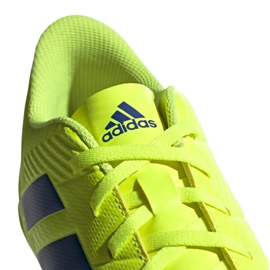Indoor shoes adidas Nemeziz 18.4 In M BB9469 yellow yellow 6