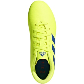 Football shoes adidas Nemeziz 18.4 FxG Jr CM8509 yellow multicolored 1