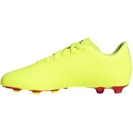Football shoes adidas Nemeziz 18.4 FxG Jr CM8509 yellow multicolored 2