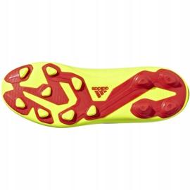 Football shoes adidas Nemeziz 18.4 FxG Jr CM8509 yellow multicolored 3