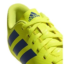 Football shoes adidas Nemeziz 18.4 FxG Jr CM8509 yellow multicolored 5