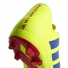 Football shoes adidas Nemeziz 18.4 FxG Jr CM8509 yellow multicolored 6
