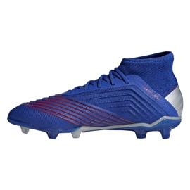 Football boots adidas Predator 19.1 Fg Jr CM8530 blue blue 1