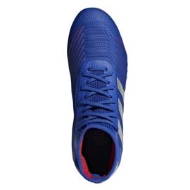 Football boots adidas Predator 19.1 Fg Jr CM8530 blue blue 2