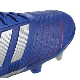 Football boots adidas Predator 19.1 Fg Jr CM8530 blue blue 3