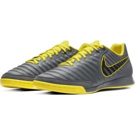 Indoor shoes Nike Tiempo Legend 7 Academy Ic M AH7244-070 grey of graphite 4