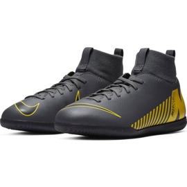 Indoor shoes Nike Mercurial Superfly X 6 Club Ic Jr AH7346-070 grey of graphite 4