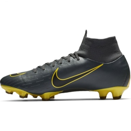 Football shoes Nike Mercurial Superfly 6 Pro Fg M AH7368-070 grey black 1