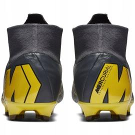 Football shoes Nike Mercurial Superfly 6 Pro Fg M AH7368-070 grey black 6