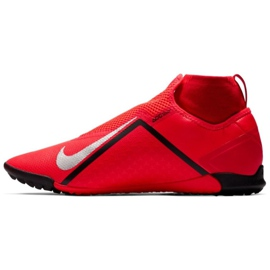 Nike React Phantom Vsn Pro Df Tf M AO3277-600 Football Boots red red 1