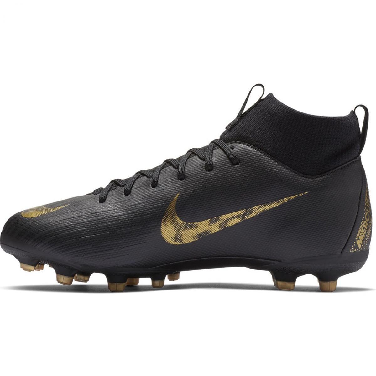 Encommium pala Humano  Football shoes Nike Mercurial Superfly 6 Academy Mg Jr AH7337-077  multicolored black - ButyModne.pl