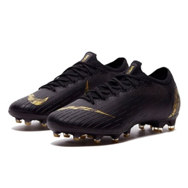 Nike Mercurial Vapor 12 Elite Ag Pro M AH7379-077 Football Shoes black black 2