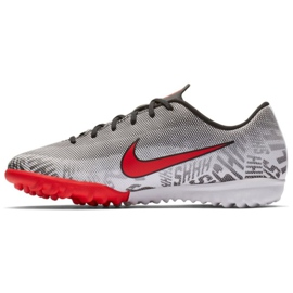 Nike Mercurial Vapor 12 Academy Football Shoes Neymar Tf Jr AO9476-170 grey grey 1
