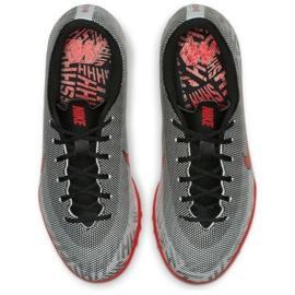 Nike Mercurial Vapor 12 Academy Football Shoes Neymar Tf Jr AO9476-170 grey grey 2