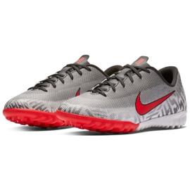 Nike Mercurial Vapor 12 Academy Football Shoes Neymar Tf Jr AO9476-170 grey grey 3