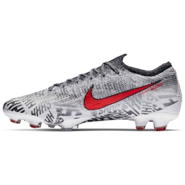 Nike Merurial Vapor 12 Elite Neymar Fg M AO3126-170 Football Shoes grey white 1
