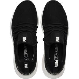 Running shoes Puma Nrgy Neko M 191068 01 black 1