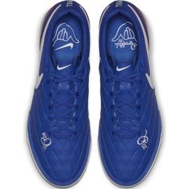 Indoor shoes Nike Tiempo Legend X 7 Academy 10R Ic M AQ2217-410 blue blue 1